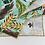"Thumbnail: Tropical Leaves Real & Imagined 20"" x 20"" Bandana by Mel Christy"