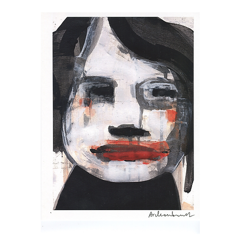 """8.5"""" x 11"""" Faces Digital Prints by Paulina Archambault"""