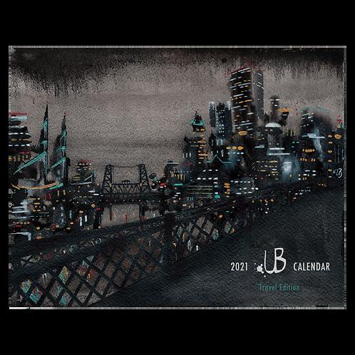 2021 Wall Calendar by Ursula Barton