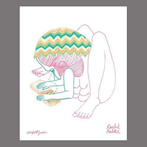"""""""Cud of My Heart"""" Series Digital Prints by Rachel Mulder"""