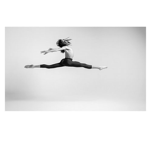 Leaping Dancer Photographic Print by Hobbs