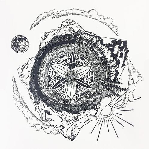 Explorers Amulet Digital Print by Jason McDonald