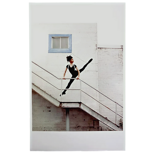 Dancer on Staircase Photographic Print by Hobbs
