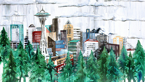 SEATTLE IN THE TREES