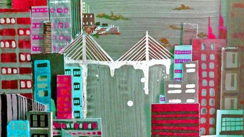 POP TILIKUM CROSSING BRIDGE
