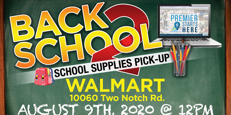 Back To School Supplies Pick-up