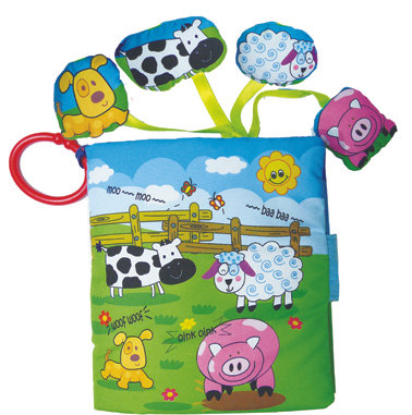 My Farm Animals Soft Book with Sounds