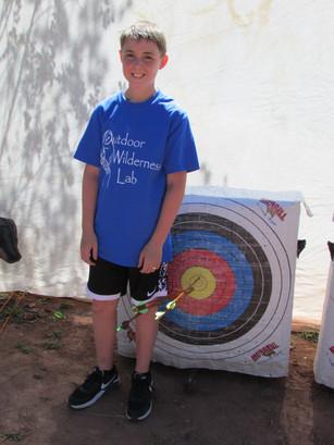Bull's Eye on the Archery Range