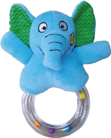Plastic Ring Rattle E'FUN