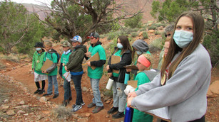 Hiking and Learning about Conservation