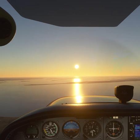 Rundflug über die dänische Südsee