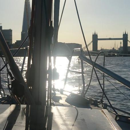 Vortrag: Eine ungewöhnliche Segelreise nach London