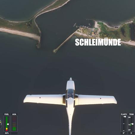 Rundflug über die Schlei