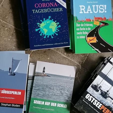 Bücher, Corona, Klopapier und Weihnachten