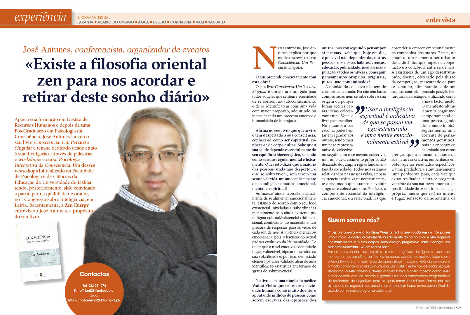 Entrevista José Antunes® ZEN ENERGY (Pág
