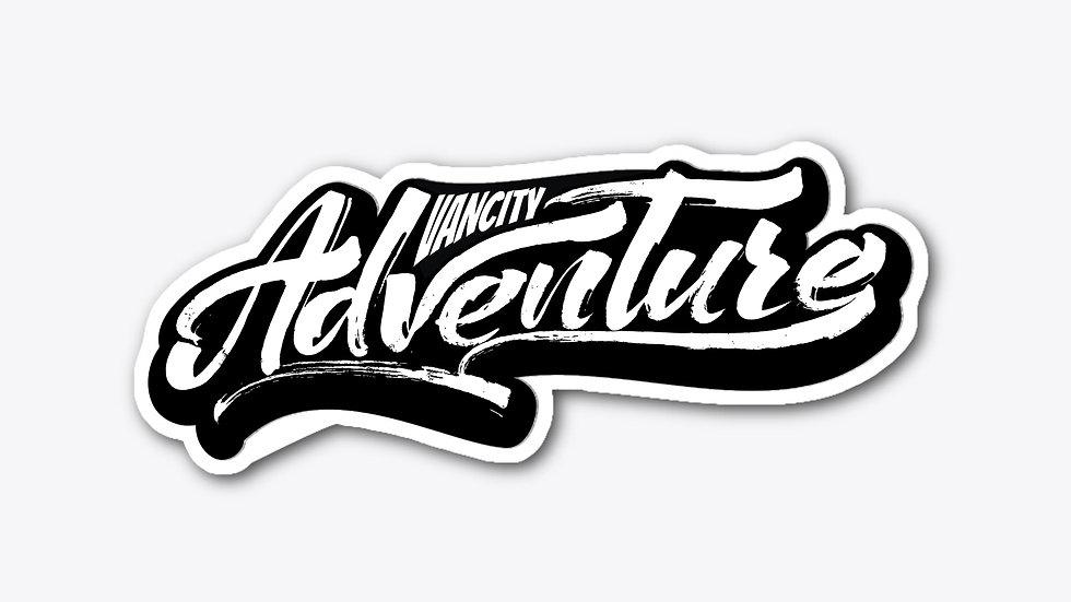 "Vancity Adventure Sticker (5""x2"")"