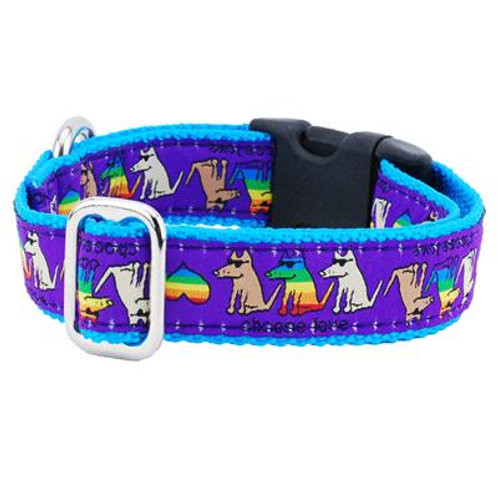 "Teddy The Dog ""Choose Love"" Dog Collar"