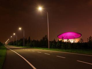Оцинкованные опоры освещения Астана