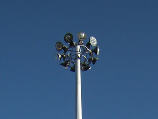 Мачта освещения с мобильной короной ПМО-20