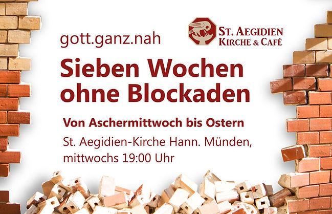 Logo 7 Wochen ohne Blockaden