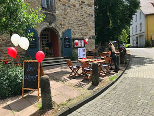 Neueröffnung des Cafés am 26. Juli 2020.