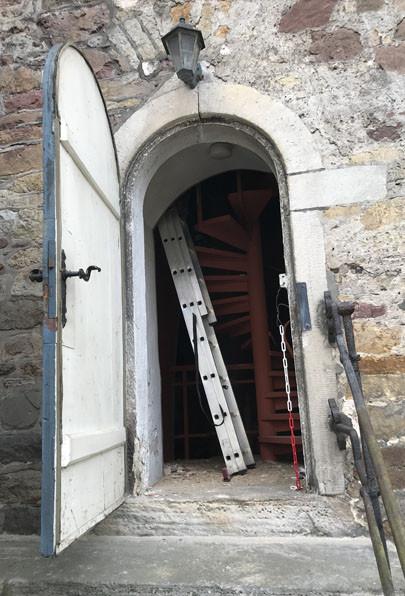 Arbeitseinsatz, Renovierung St. Aegidien-Kirche Hann.Münden