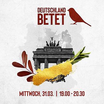 Logo Deutschland betet 21