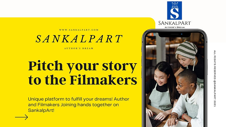 SankalpArt- Pitch Your story to Filmaker