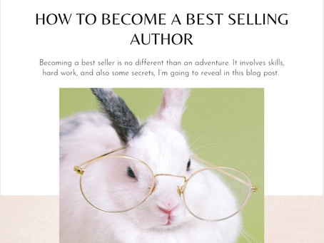 How to become a best-selling author?