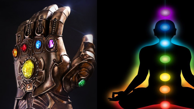Thanos's Stones, Newton's Prism, Primary Colors, and Humanities Higher Consciousness.