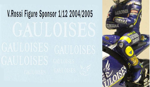 1/12 ROSSI FIGURE 2004 2005 GAULOISES  TBD27