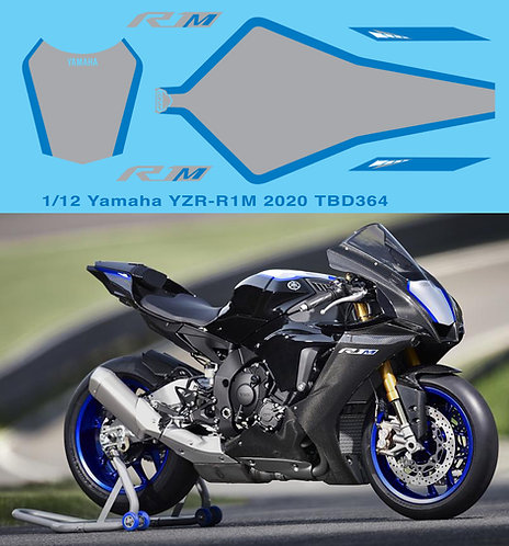 1/12 Yamaha YZR-R1M 2020 Livery Decals TB Decal TBD364