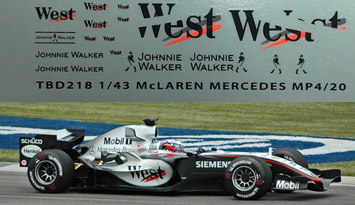 1/43 McLaren Mercedes West Decals MP4/20 TBD218