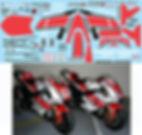 1/12 YAMAHA M1 2011 50TH LORENZO SPIES TAMIYA DECALS TB DECAL TBD98