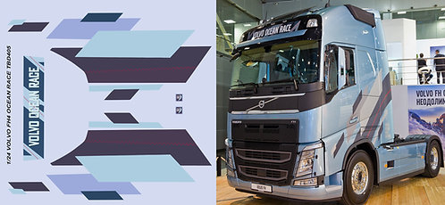 1/24 VOLVO FH4 OCEAN RACE Livery Decals TB Decal TBD405