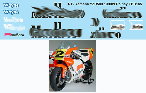 1/12 YAMAHA YZR500 1990 WAYNE RAINEY  TBD165
