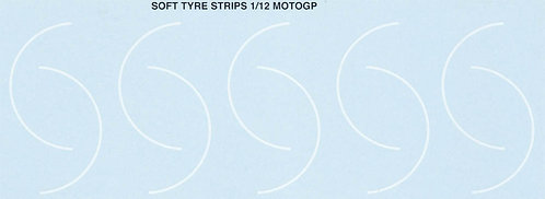 1/12  ROSSI STONER LORENZO SOFT TYRE STRIPS  TBD19