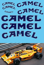 1/18 CAMEL SPONSOR FOR LOTUS 99T 1987 SENNA  DECALS TB DECAL TBD53