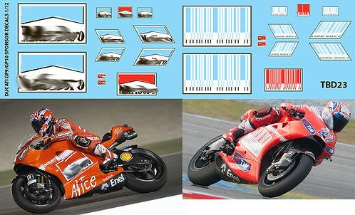 1/12 Ducati GP9 / GP10 Casey Stoner L. Capirossi