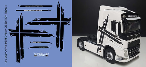 1/50 Volvo FH4 Performance Edition  Black Strips Decals TB Decal TBD398