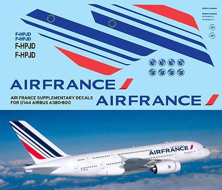1/144 AIR FRANCE AIRBUS A380 800 LIVERY TBD78