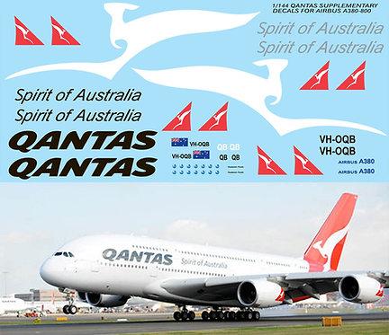 1/144 QANTAS AIRBUS A380 800 REVELL  KIT  TBD76