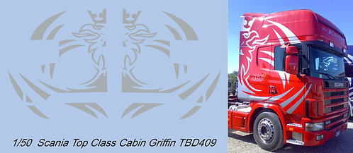 1/50 Scania Top Class Griffin Decals TB Decal TBD409