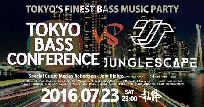 TOKYO BASS CONFERENCE vs JUNGLE SCAPE @青山蜂 AOYAMA HACHI