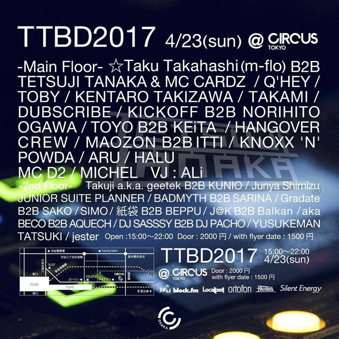 TTBD 2017 at CircusTokyo