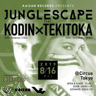 JUNGLE SCAPE feat KODIN x TEKITOKA