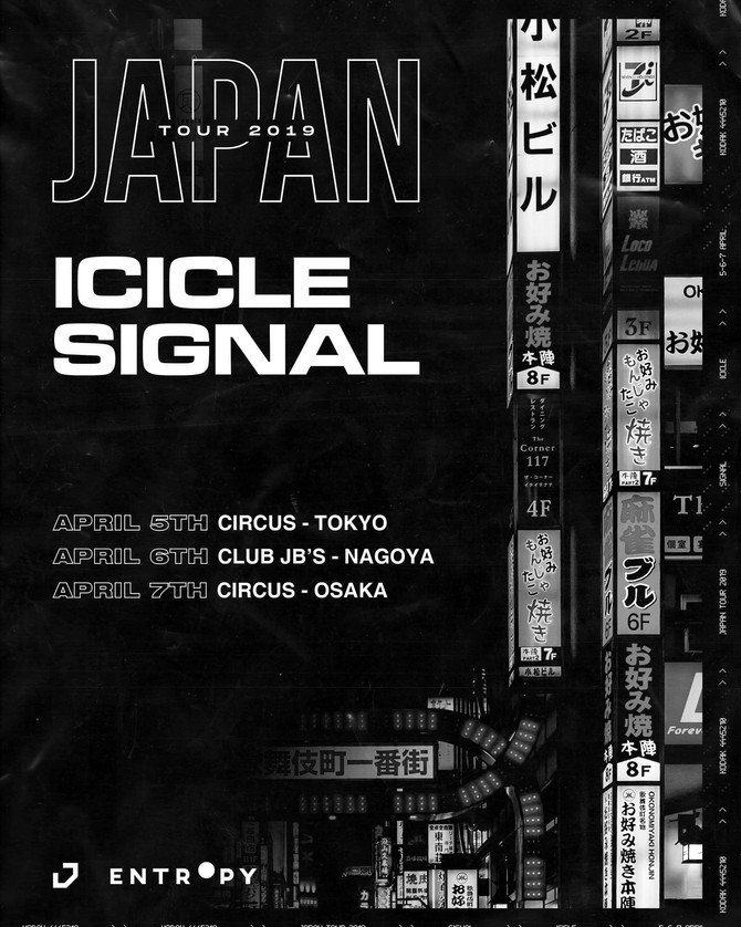 ICICLE + SIGNAL Japan Tour in Tokyo 2019