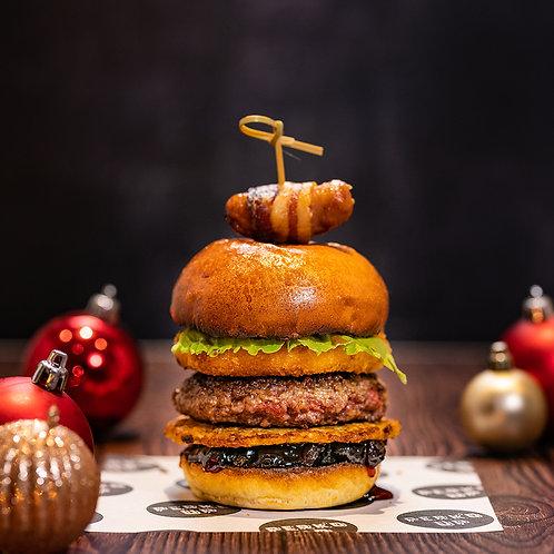 4 X Perk'd Up Festive Feast Burgers (Beef)