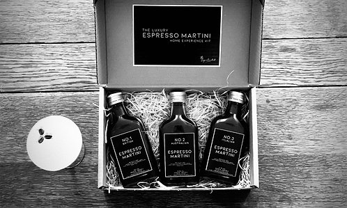 The Luxury Espresso Martini Home Experience Kit