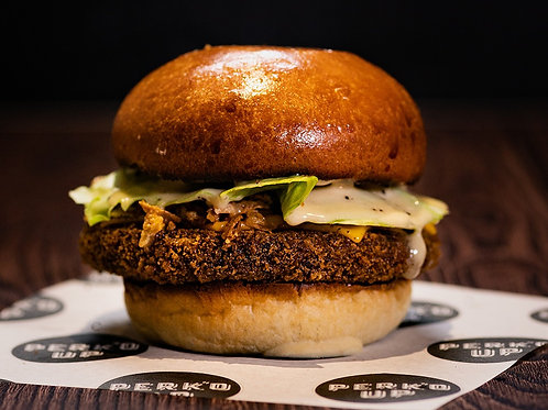 SATURDAY 17TH (2PM SLOT): Signature Veggie Haggis Burger